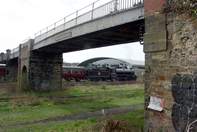 K1 reversing into the museum sidings - Dave Whitfield