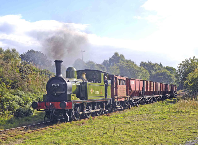 J72 and Uncle Terry with coal train at Bowes Bridge - Peter J Robinson