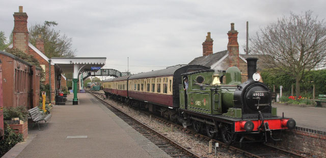 Joem on the Colne Valley railway - Keith Halton