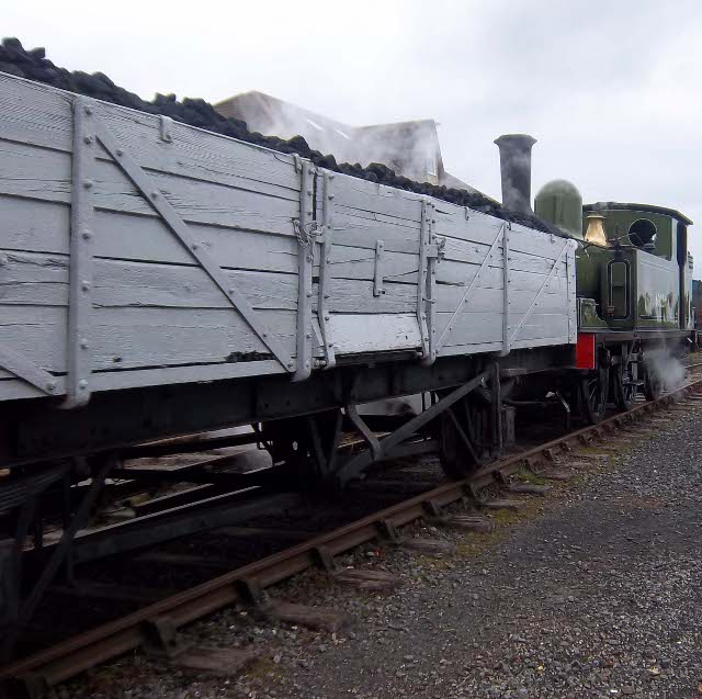 J72 shunting the coal wagon - Peter Shields