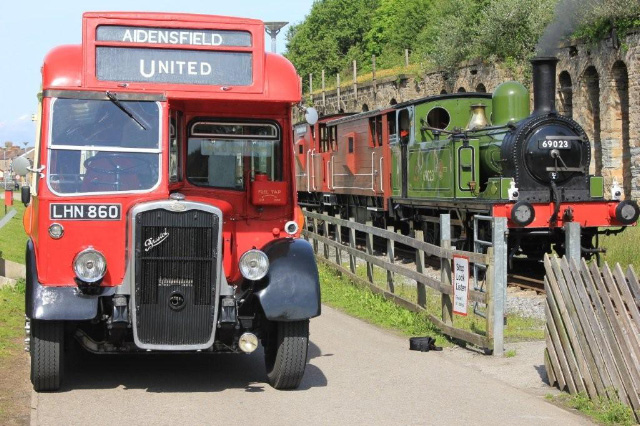 June 20th with a Darlington registered United bus - Fred Ramshaw