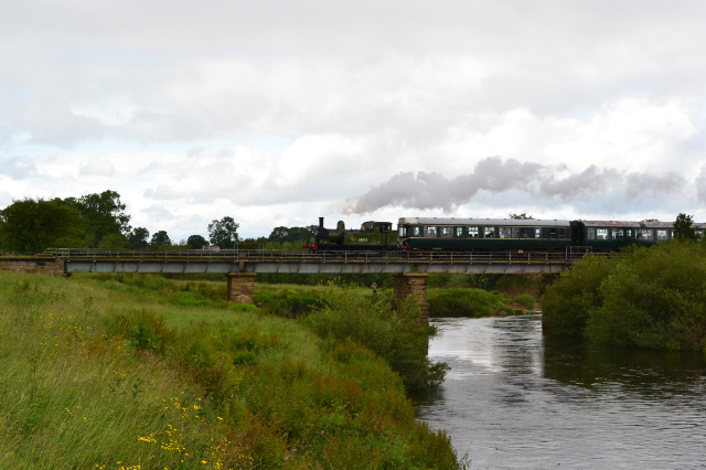 The J72 crossing the Swale at Morton on Swale 1st July 2012 - Iain Cordeux