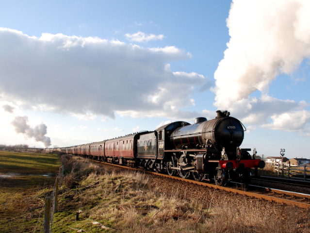 Departing towards Marske - Dave Pearson