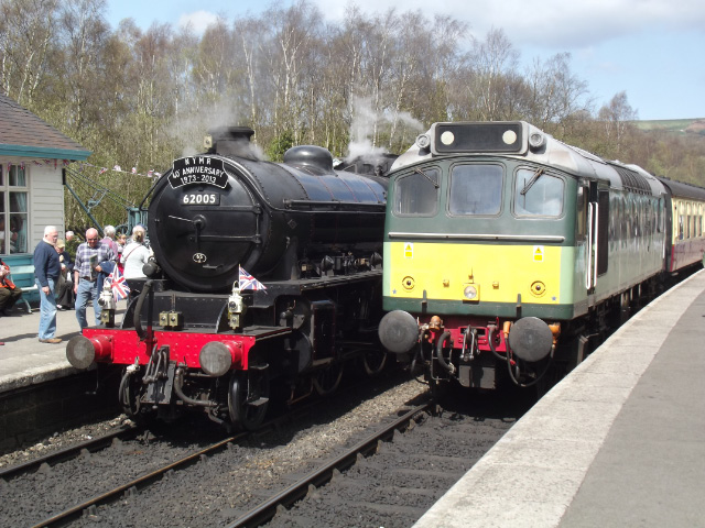 With class 25 D7628 which was working the 13:30 Grosmont to Pickering - Dominic McColl
