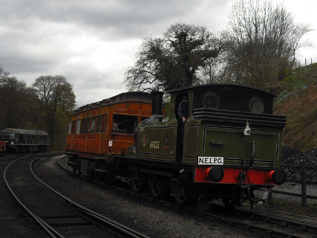 J72 and Old Gentleman's Saloon return from another trip to Goathland - John Midcalf