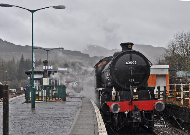 Taking water at Crianlarich - Colin Smith