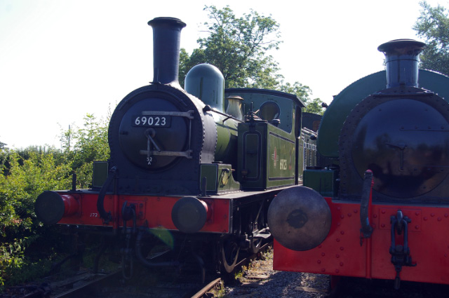 Joem and Pecket 0-4-0ST No 1967 'Merlin', built in 1939 and which will be used for steam hauled services through the rest of the summer season - Chris Lawson