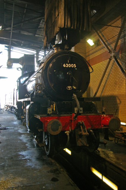 The K1 in the Prep Bay at NRM York Sat 22nd March - Chris Lawson