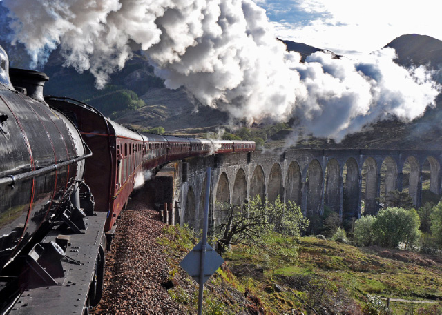 Crossing Glenfinnan Viaduct - Colin Smith