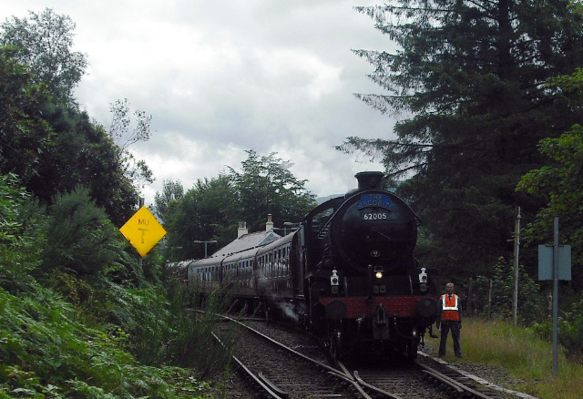62005 at Glenfinnan - John Midcalf