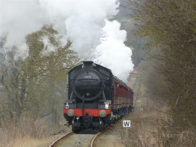Leaving Redmire towards Preston under Scar - Terry Newman