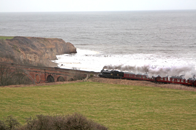 The K4 at Hawthorn between Harlepool and Seaham- Maurice Burns