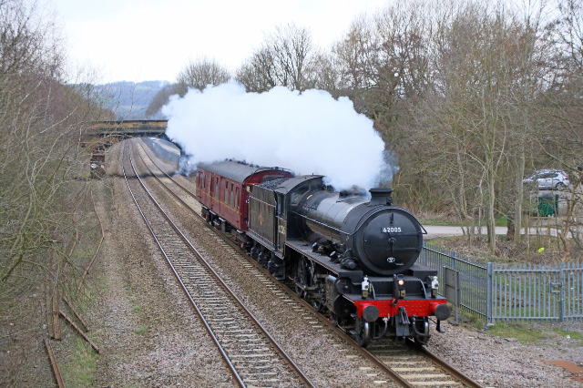 62005 today at Duffield on the approach to Derby - Paul Spencer