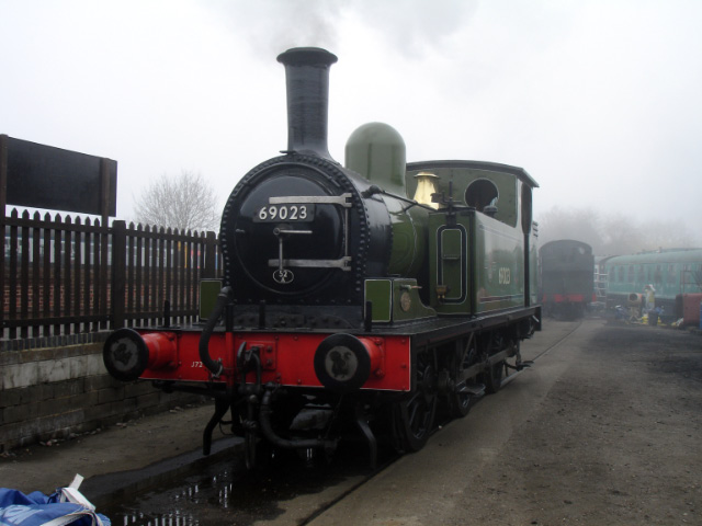 Raising steam at Noeth Weald - Fred Ramshaw