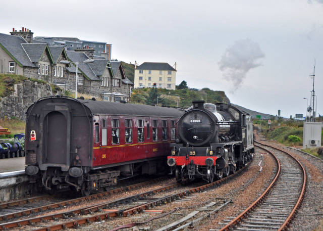 Running around the stock at Mallaig - Colin Smith