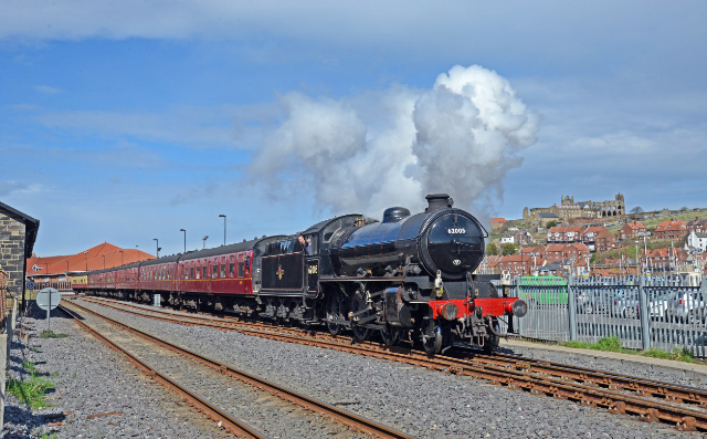 Leaving Whitby on 12:45 train 6th April - John Hunt