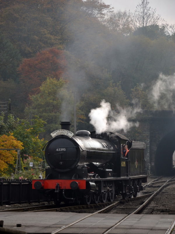 The Q6 comming on to the 13.30 diner train at Grosmont - Thea Chyriwsky
