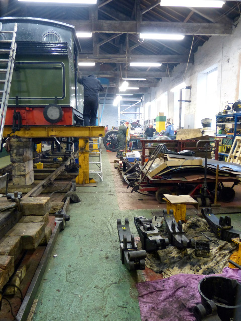 A view along the workshop - Terry Newman