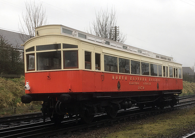 The 1903 North Eastern Railway autocar 3170 Sunday afternoon - Neal Woods