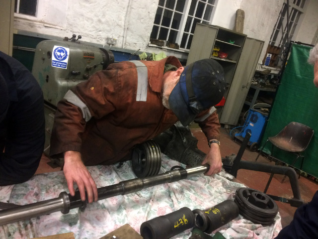 The LH valve assembly being adjusted to make that valve openings correct. No adjustment was require to the valve rods - Neal Woods