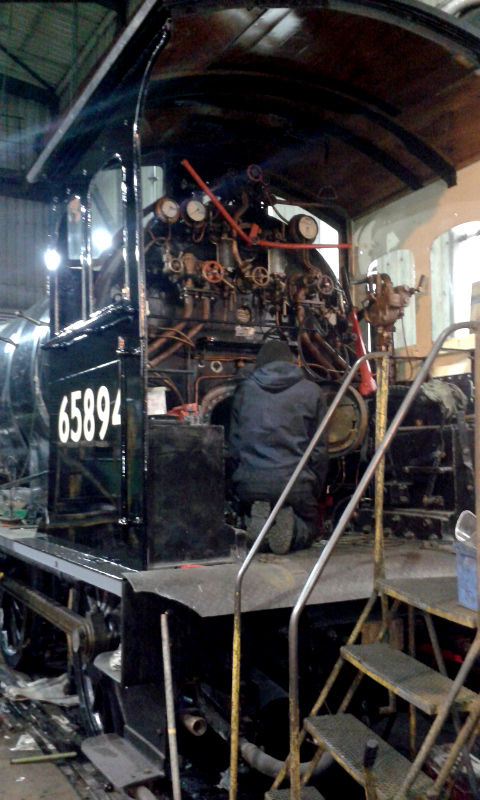 Cab fittings almost complete - Chris Lawson