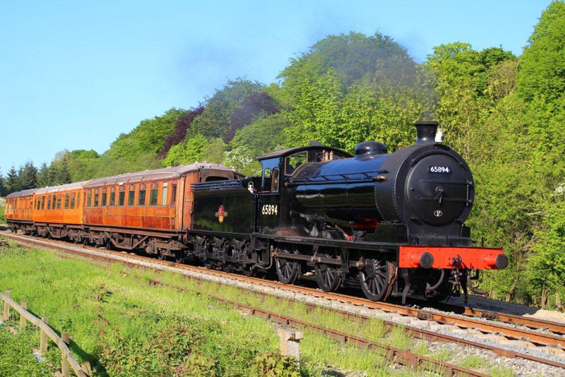 Pulling away from Goathland on Sunday? - Dave Pennock