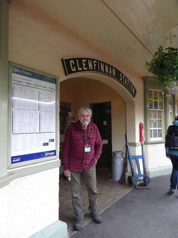 John Barns, Glenfinnan Station owner - Arthur Jenkins