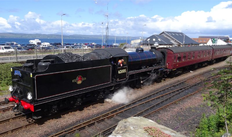 Shunting the stock at Mallaig - Arthur Jenkins