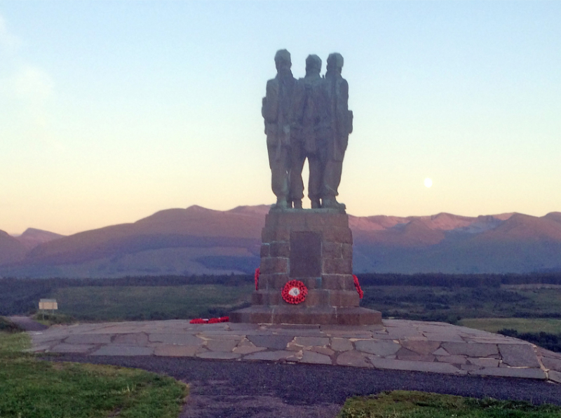 Spean Bridge Cammando Memorial - John Midcalf