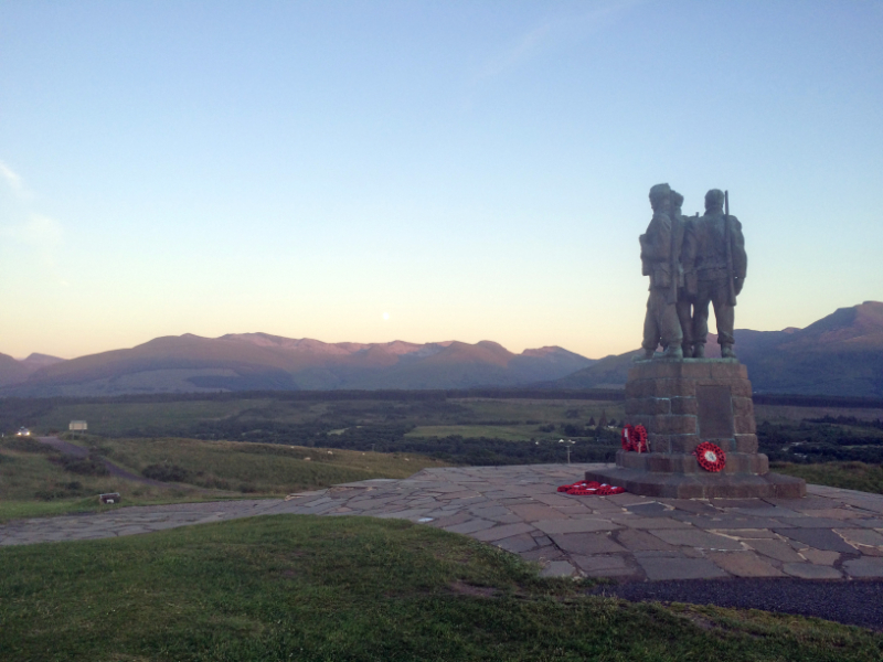 Spean Bridge Cammando Memorial 2 - John Midcalf