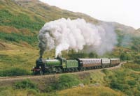 2005 with The Royal Scotsman at Glenfinnan 16th September 1992