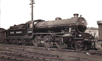 62005, a few days old at Eastfield MPD, June 1949