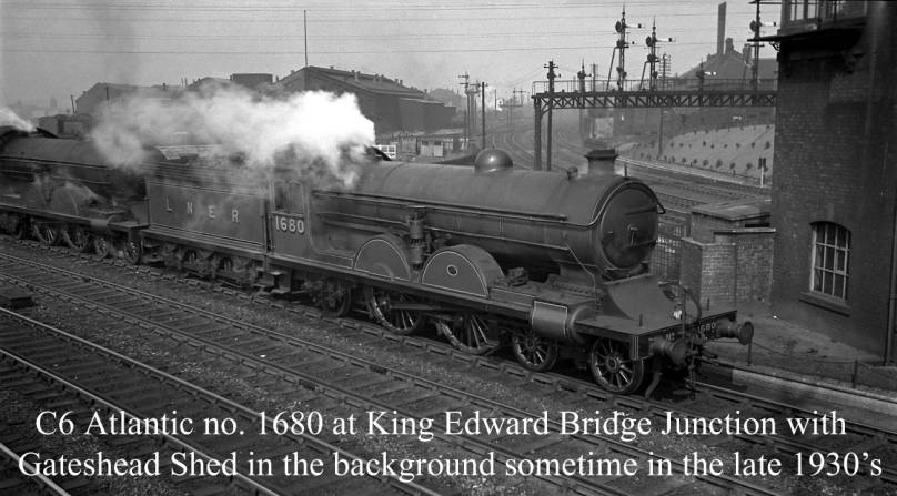 C6 1680 at King Edward Bridge Junction