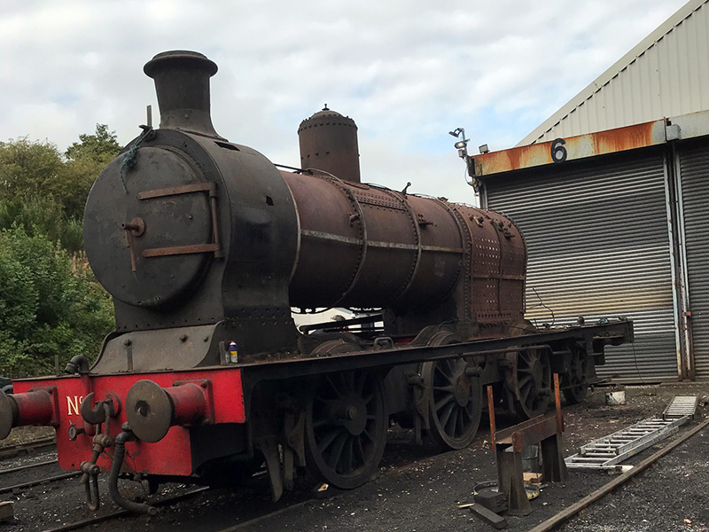 No 5 on 16 September 2020 ready for its boiler lift - Ian Pearson