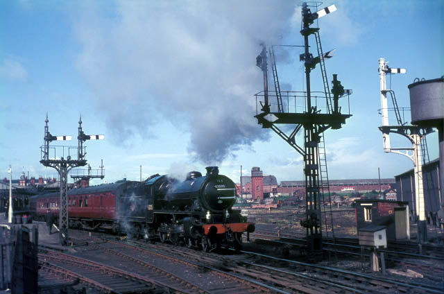 Departure with stock from West Hartlepool.